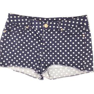 Lauren Conrad purple polka dot shorts. Size 6